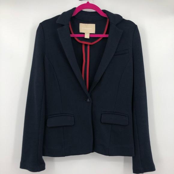 Banana Republic Jackets & Blazers - Banana Republic Navy Blue Cotton Blazer XS